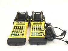Lot Of 2 Brady Id Pro Plus Wire Marker Dot Matrix Label Printer With Ac Adapter