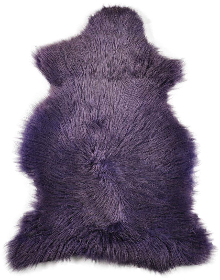 Svedesi Eco pelle di Pecora Viola 100 x 60 Cm