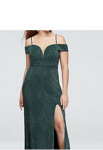 Deep Green Evening Gown