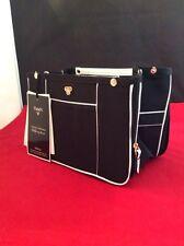 Brand New PurseN Handbag Organizer Insert Expandable Blanc Noir Small