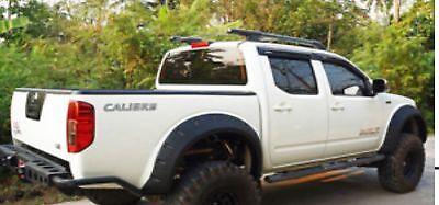 Nissan Navara D40 Rear HD Heavy Duty Rear Bumper With Tow Bar Mount Off Road