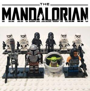 Star-Wars-The-Mandalorian-Battle-Set-10-Custom-Minifigures-Lot-USA