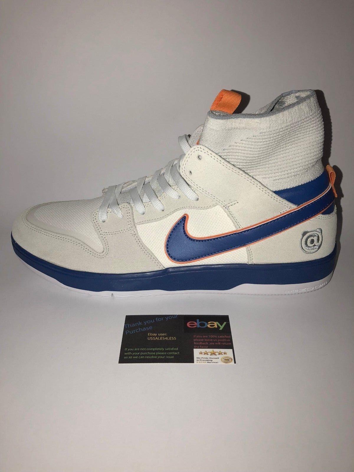 Nike sb x medicom zoom canestro alto alto canestro elite qs sz: 13 (918287-147) bearbrick 960622