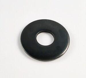 10 pcs Grande Rondelles DIN 9021 m8 Noir Acier Inoxydable Disques