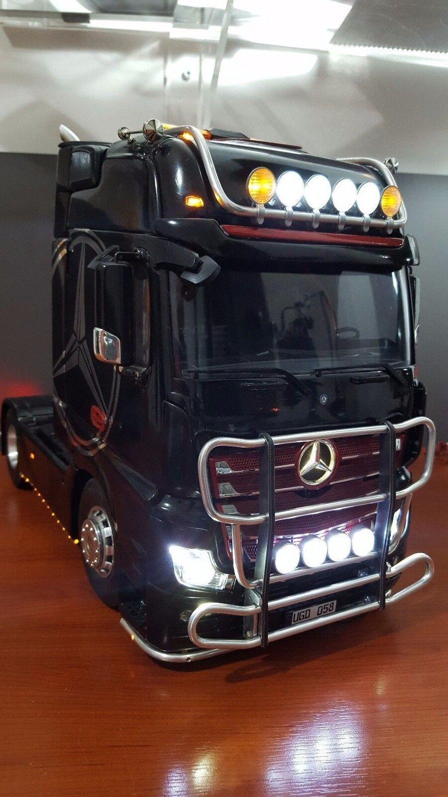 1/14 Tamiya Mercedes Actros Metal Light Animal Guard V2