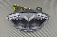 Feu arrière LED clair clignotant intégré Kawasaki Z1000SX Z1000 SX 2015 16