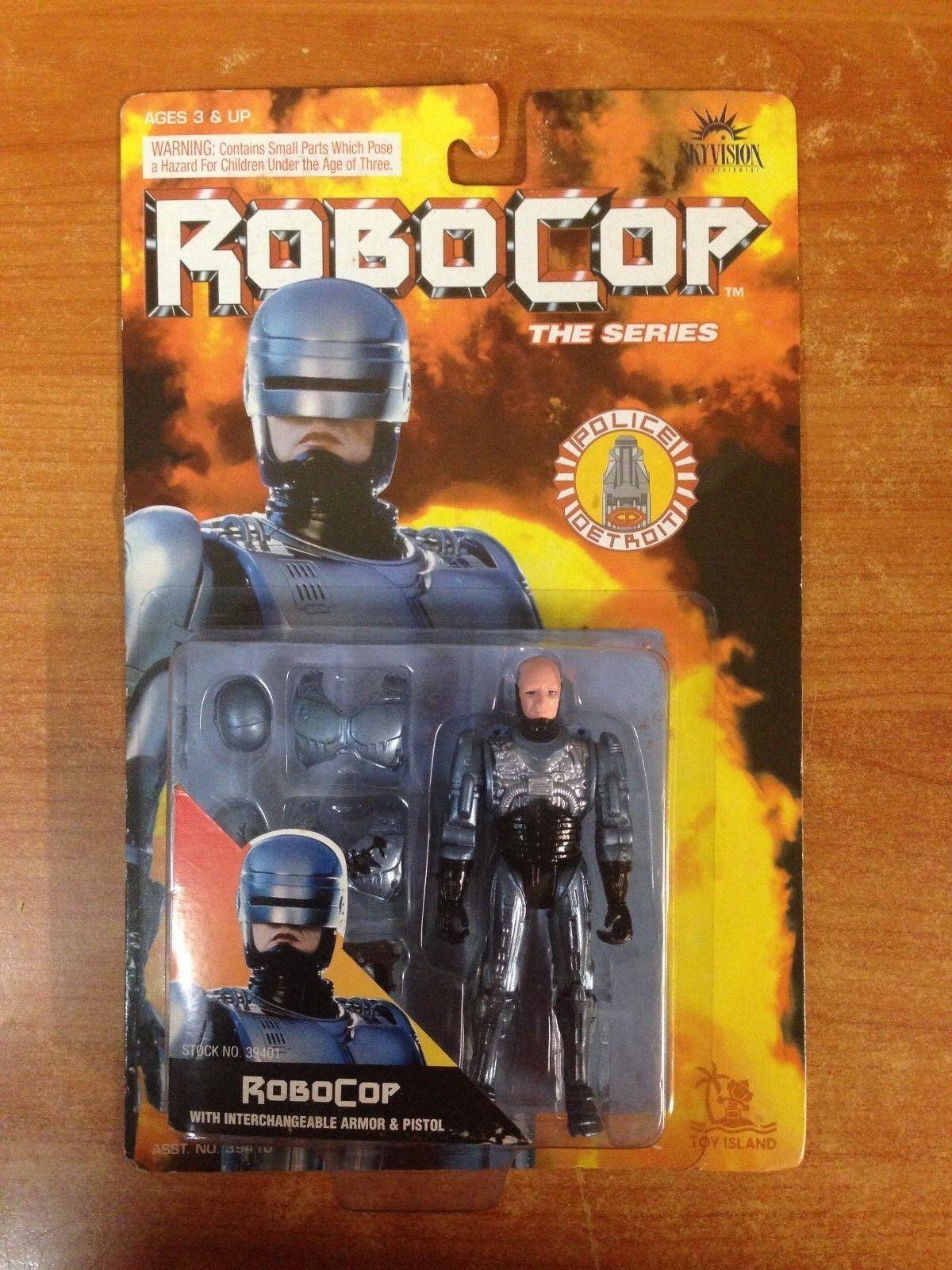 Vintage 1993 Electronic Robocop Robocop Robocop The Series Action Figure Robocop MOSC b29ff9