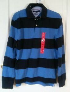 Men's Tommy Hilfiger rugby polo long sleeve Brand new with