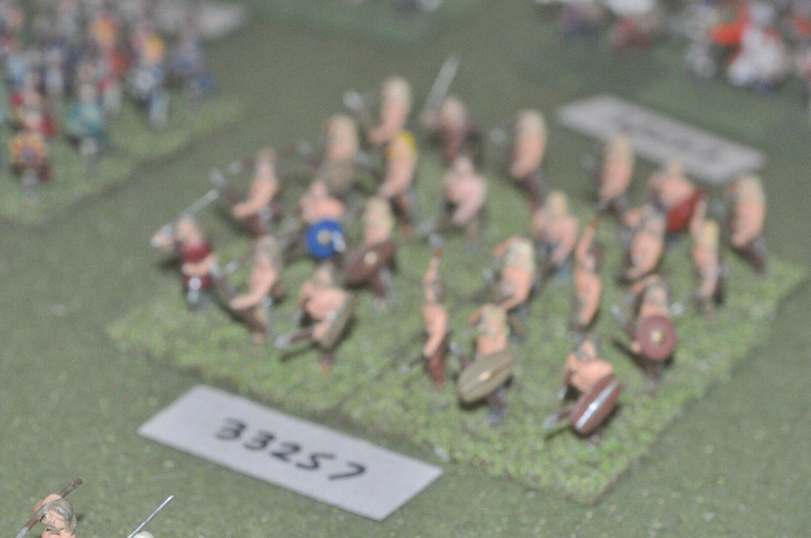 25mm época Romana galos guerreros - 24 figuras-INF (33257)