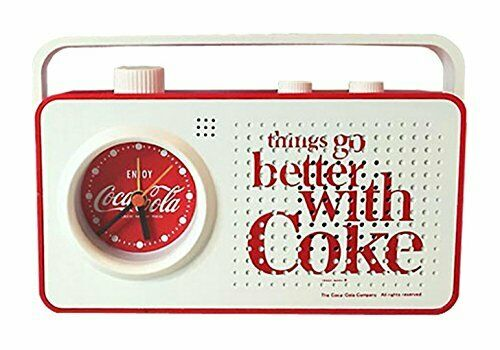 Coca-Cola Radio Alarm Clock Things type Battery powered NEW Japan collection