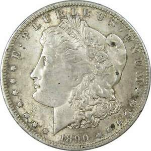 1890-O-1-Morgan-Silver-Dollar-US-Coin-AU-About-Uncirculated