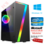 Gaming-PC-Quad-Core-i7-Ordinateur-SSD-HDD-4-16-Go-RAM-GT-GTX-Gfx-Windows-10-WIFI miniature 1