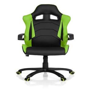 Hjh Gaming I Piel Office Pro Detalles 621884 Silla Racer De Negroverde Sintética n0OwkN8PXZ