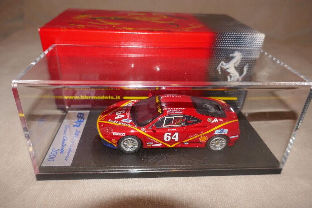 BBR 1 43 Ferrari F360 Challenge 2000  64 Raro BG214