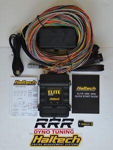 Details about Haltech Elite 1500 ECU & universal premium 8 ft wiring on