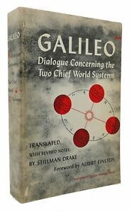 Galilei Galileo Stillman Drake Einstein Albert GALILEO DIALOGUE CONCERNING THE T