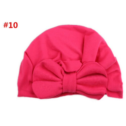 Fashion New Toddler Kids Baby Boy Girl Turban Cotton Beanie Hat Winter Cap