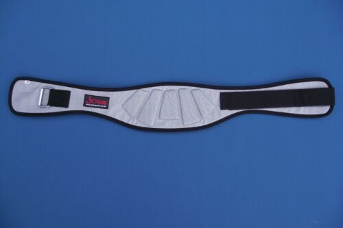 Weight Lifting Silver Contour Belt By Josh