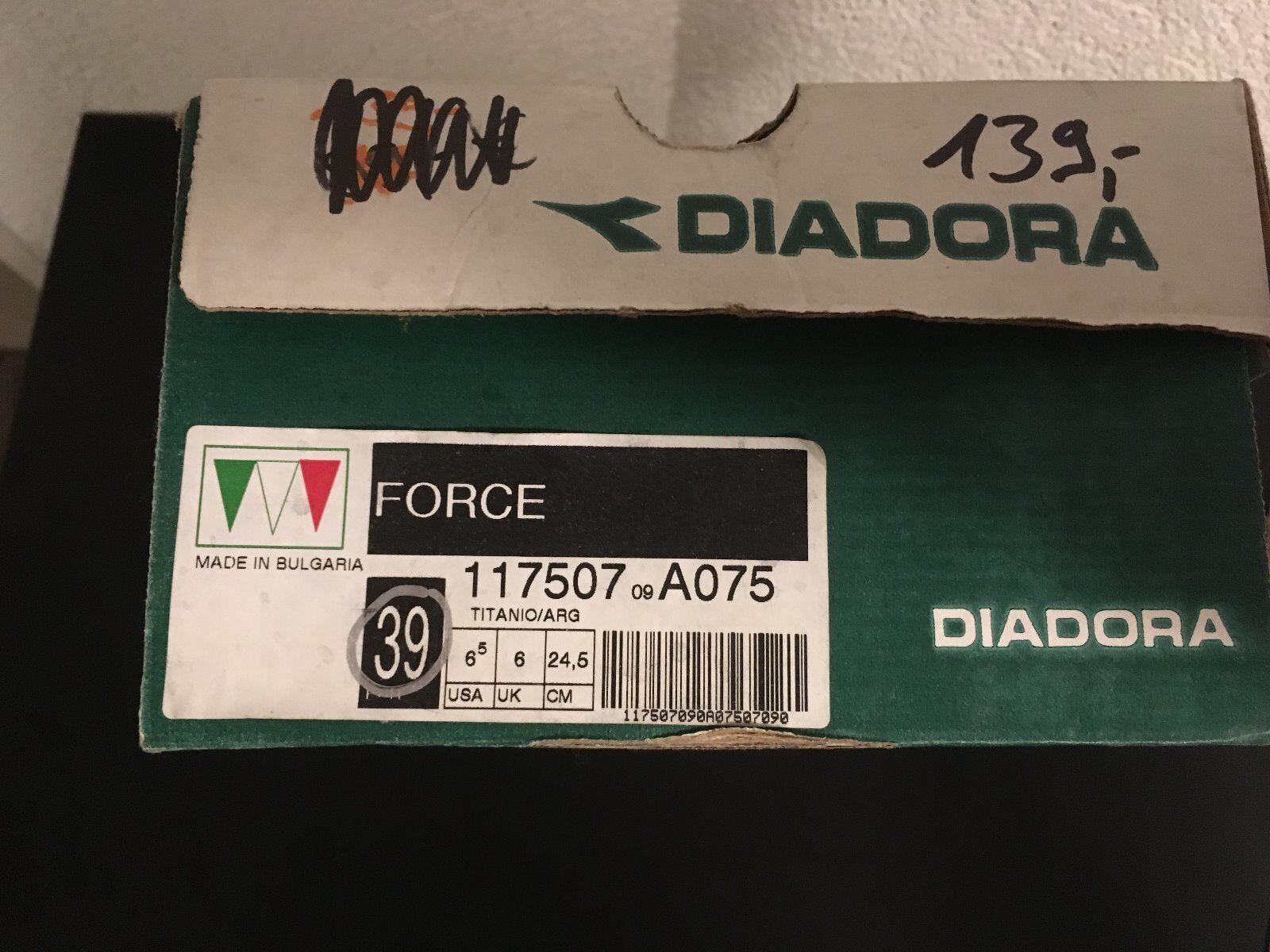 Diadora Force Road Schuhe Schuh Schuh Schuh schuhe silber Gr. 39 Rennrad  | Niedriger Preis und gute Qualität  a28c18