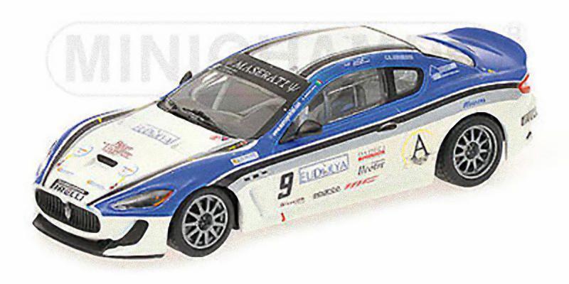 MINICHAMPS  - Maserati Granturismo GT4 MC 2010 Trofeo Moncada   Petrini
