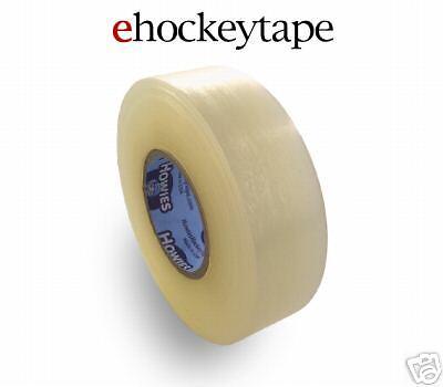 "24 Rolls of Clear Sock 1/""X30 yds Howies Hockey Cloth Tape Bulk Hockey Tape"