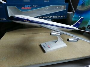 Skymarks MODELS, BOAC Boeing 707 1:150 scale Ref: SKR1065A snap fit model, New.