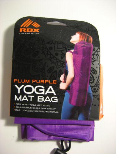 RBX  PLUM PURPLE YOGA MAT BAG