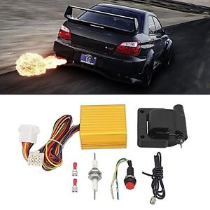 Image Is Loading Exhaust Flame Thrower Kit Universal For Car Motorcycle