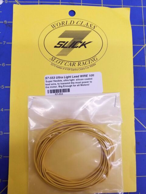 Super Slick 7 S7 553 Ultra Light Lead Wire 10Ft 1 24 Slot Car From Mid Wiring Digital Resources Talizslowmaporg