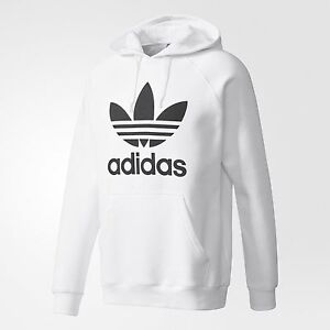 quality design 9094f 828a0 Image is loading NEW-MEN-039-S-ADIDAS-ORIGINALS-TREFOIL-PULLOVER-
