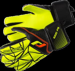 Pro Touch Kinder Torwart Handschuh Force 1000 FS Gelb//Schwarz//Orange