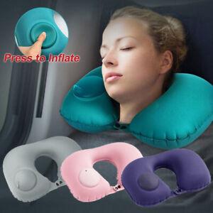 New-Portable-Inflatable-U-Shape-Neck-Pillow-Car-Head-Rest-Sleep-Cushion-Travel