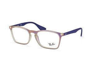 9133393a30c Ray Ban plastic eyeglasses frame RB7045 5486 53-18 neon matte purple ...