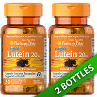 Puritan's Pride Lutein 20 Mg With Zeaxanthin 800mcg 2x30 Pills
