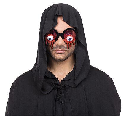 Bloody Eyes Brille blutige Augen Accessoire Karneval Halloween