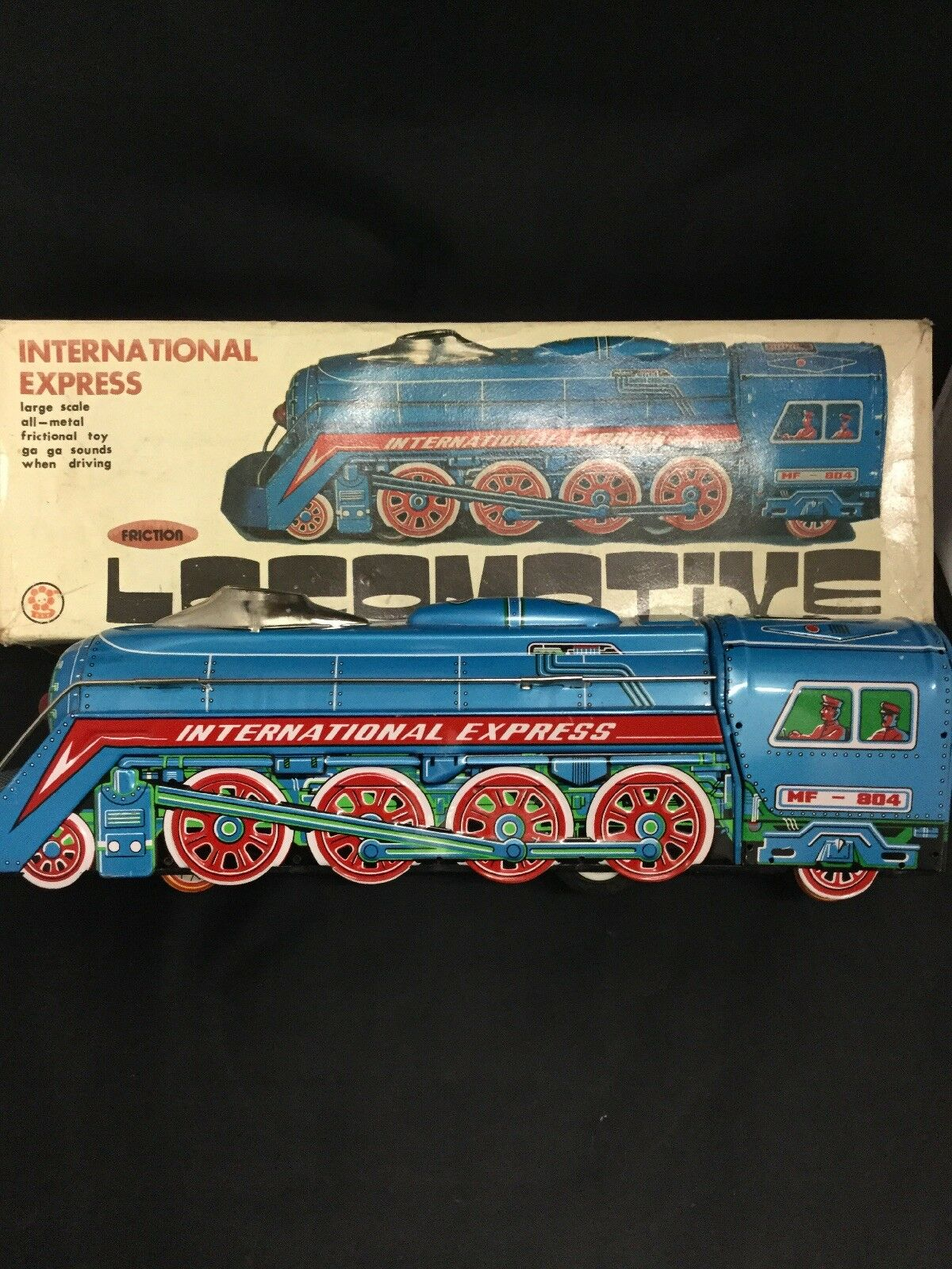 International Express Locomotive With Friction MF-804