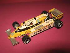 1:43 Renault F1 RS20 R. Arnoux 1980 handbuilt modelcar Tenariv in showcase