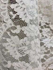 2 yds.of a 12  antique lace French yardage cotton