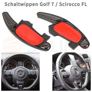 VW-Golf-7-GTI-R-DSG-Carbon-Schaltwippen-Verlaengerung-Schaltung-Shift-Paddle-MK7