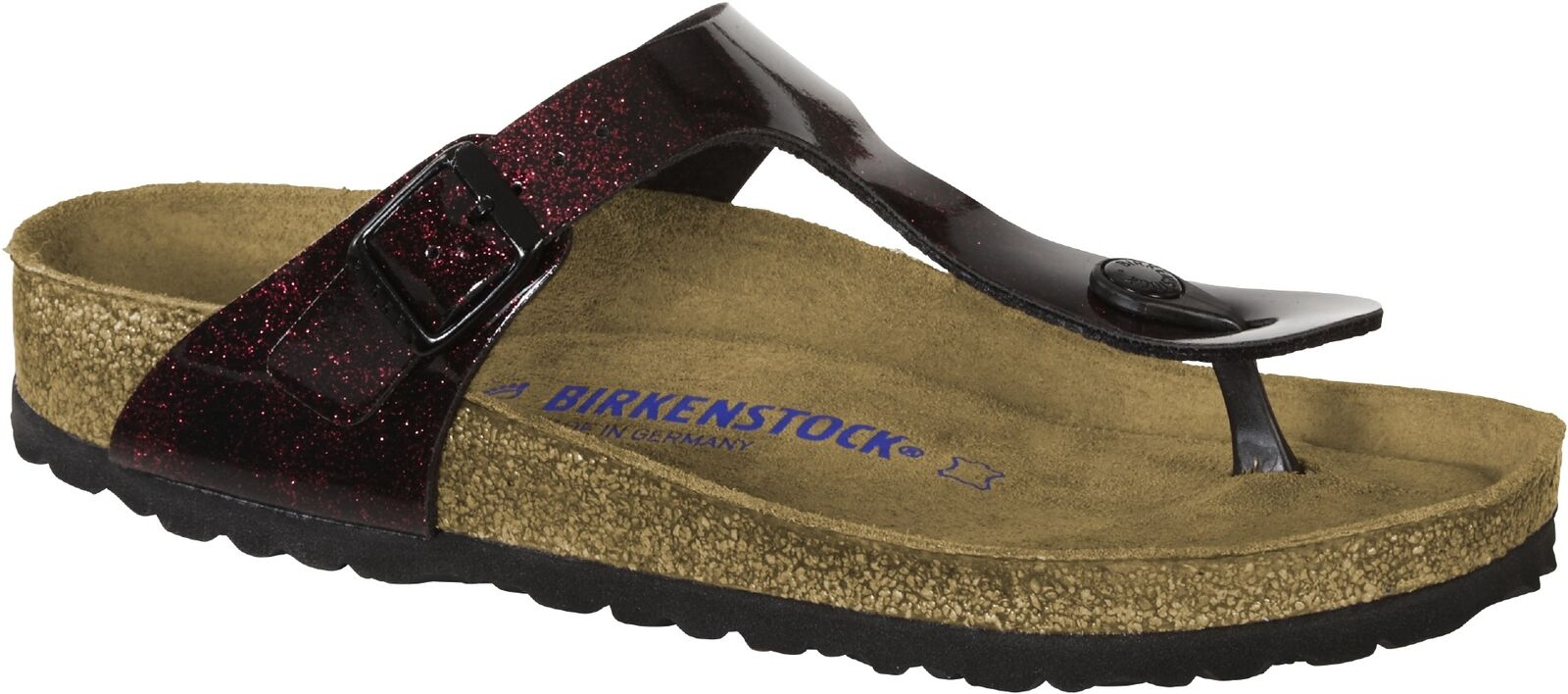 Birkenstock strong Gizeh SFB BF iride strong Birkenstock red bbc6f1