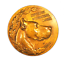 1948-Spain-International-Society-Canine-Medal-Cesar-Martinez-Las-Razas-50mm miniatuur 1