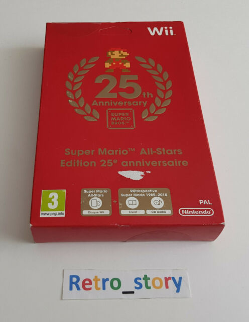 Nintendo Wii - Super Mario All Stars 25th Anniversary - PAL - NEUF / NEW