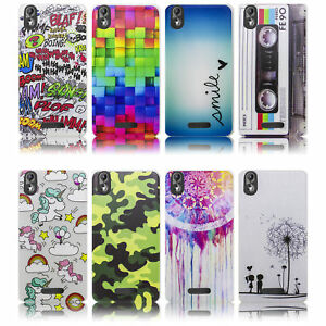 Wiko-Lenny-4-PLUS-Silikon-Smartphone-Handy-Huelle-Schutzhuelle-Case-Cover