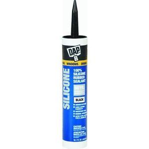 black silicone sealant dap 8642 interior exterior 100 rubber silicone 12 tubes ebay