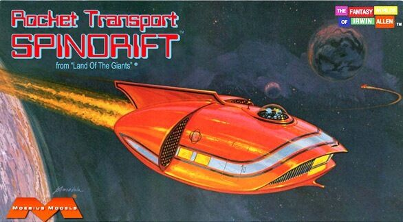 Moebius Models 1 128 Land of the Giants Mini Spindrift new in the box