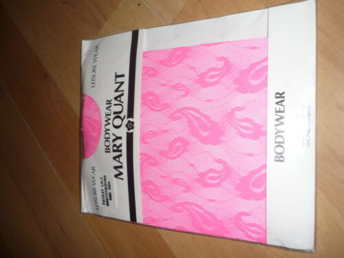 nwt Ladies Mary Quant vintage neon body stocking