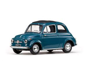 1 43 Scale Model Fiat 500 D 1964 Blue Ebay