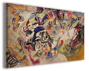 Quadro Wassily Kandinsky vol VI Quadri famosi Stampe su tela ...