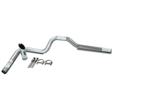 "Chevy GMC 1500 15-18 Single 3/"" Truck Exhaust Kits No muffler Slash Tip"