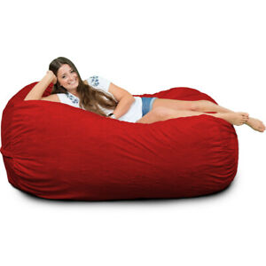 Superb Details About Ultimate Sack Lounger Bean Bag Chair Multiple Colors Materials Avail Foam Alphanode Cool Chair Designs And Ideas Alphanodeonline